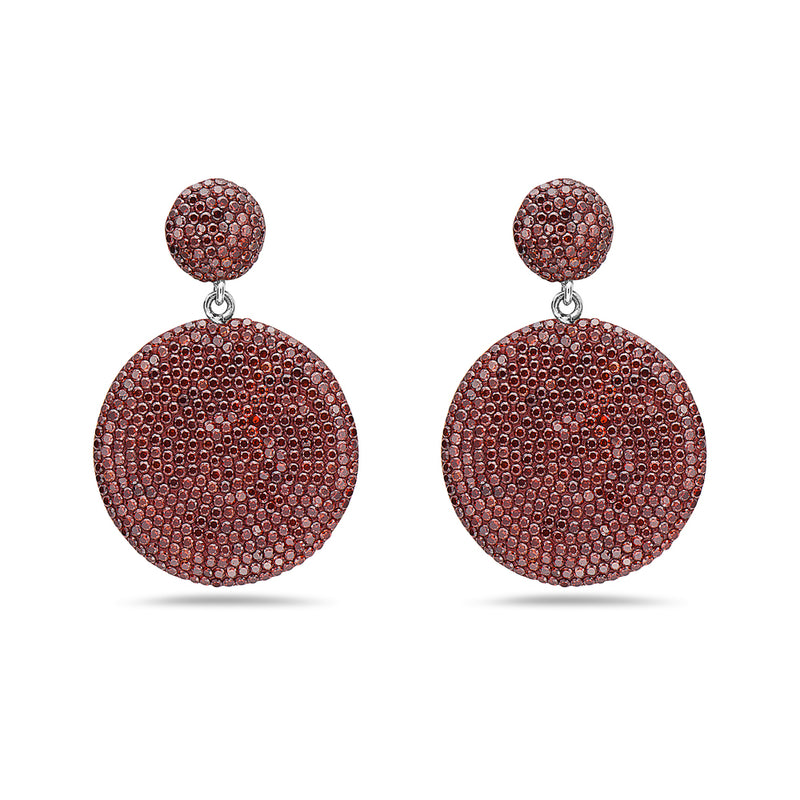 Sunburst Garnet earrings