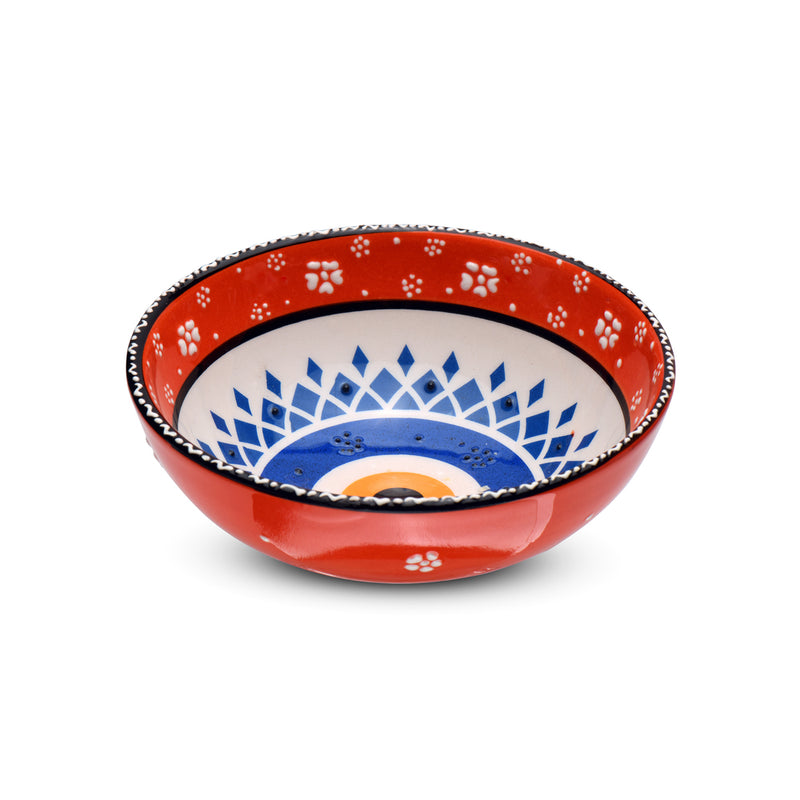 "5"" Ceramic Evil eye bowls"