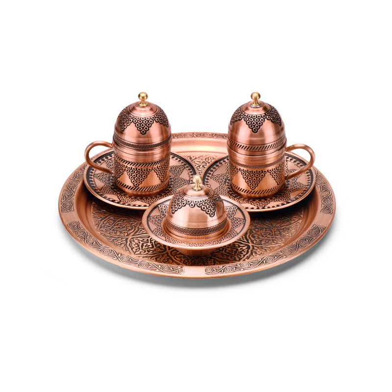 Copper Double Coffee sets