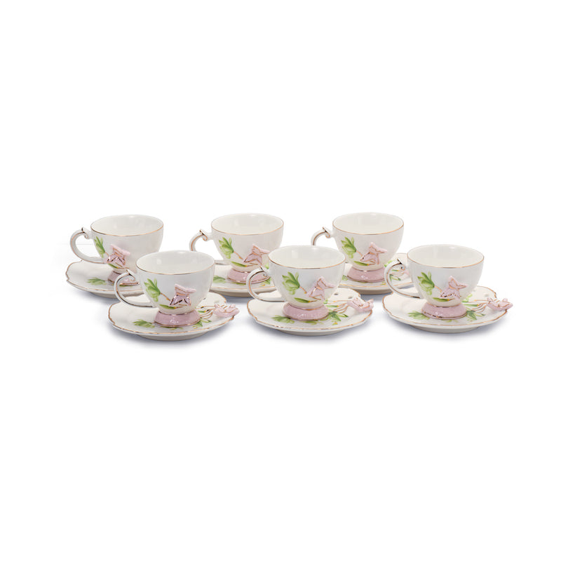 Butterfly Coffee Set