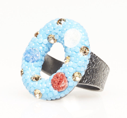 Simit ring - Roxelana Designer Jewelry & Fine Gifts