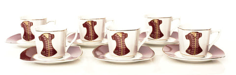 Sultan Kaftan Coffe Set