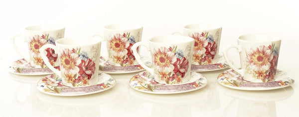 Floral Coffee Set