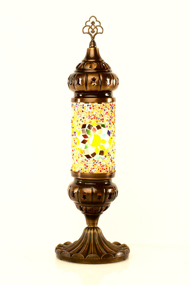 "Tower Table top lamp 17"" - Roxelana Designer Jewelry & Fine Gifts"