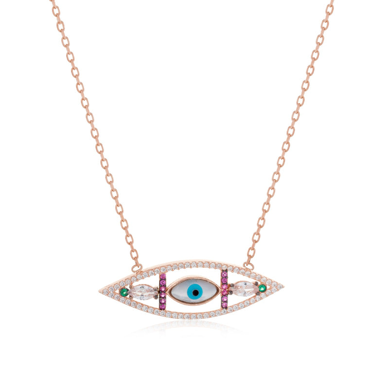 Evil eye Kibar Necklace - Roxelana Designer Jewelry & Fine Gifts