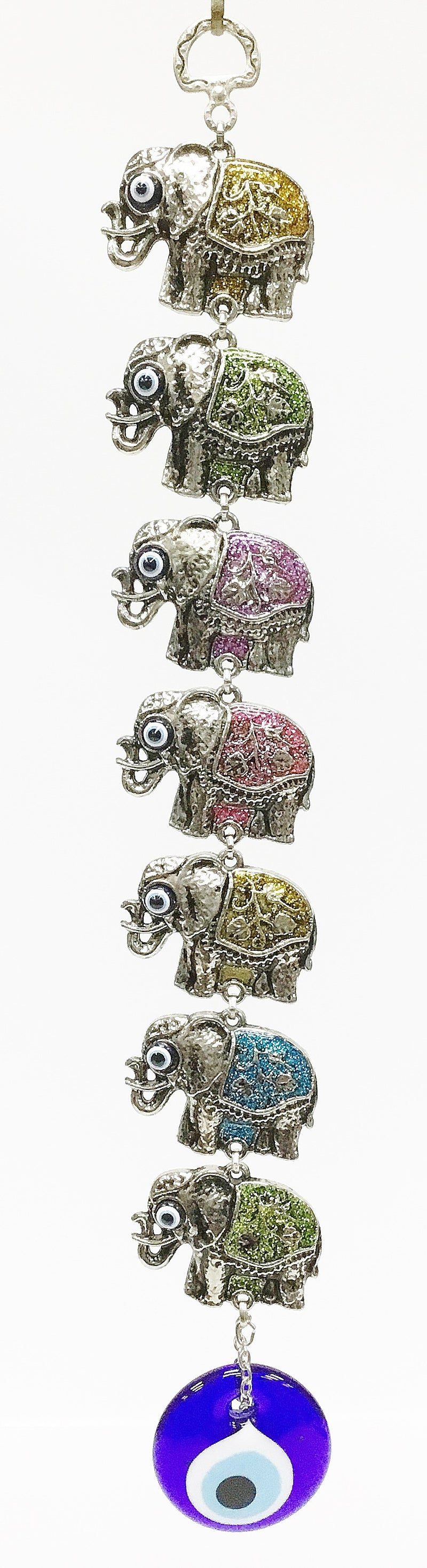 Elephant evil eye wall decor - Roxelana Designer Jewelry & Fine Gifts
