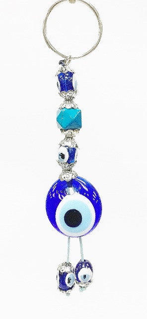 Evil eye key chain - Roxelana Designer Jewelry & Fine Gifts