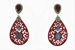 Teardrop Amazon Earring - Roxelana Designer Jewelry & Fine Gifts