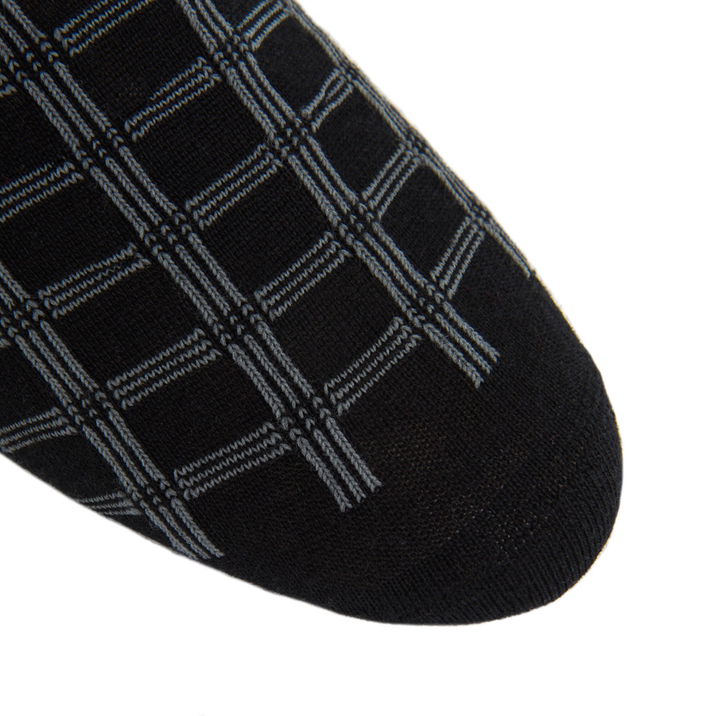 American-Made-Wool-Black-Grey-Sock