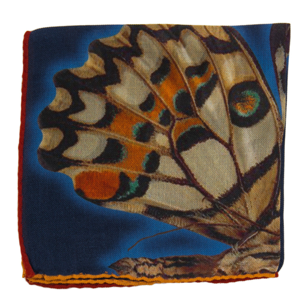 Butterfly-Silk-Wool-USA-Made-Pocket-Square