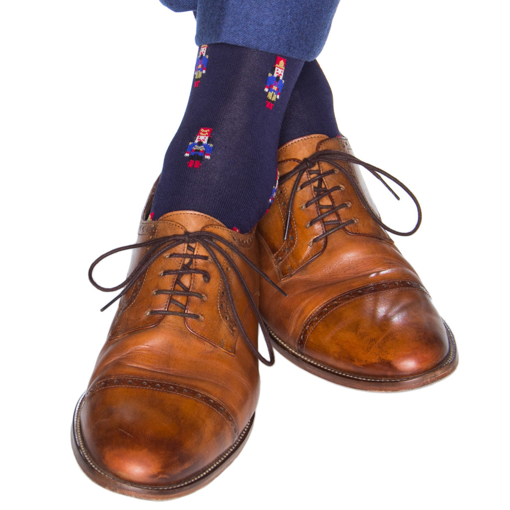 Navy-Holiday-Sock-USA