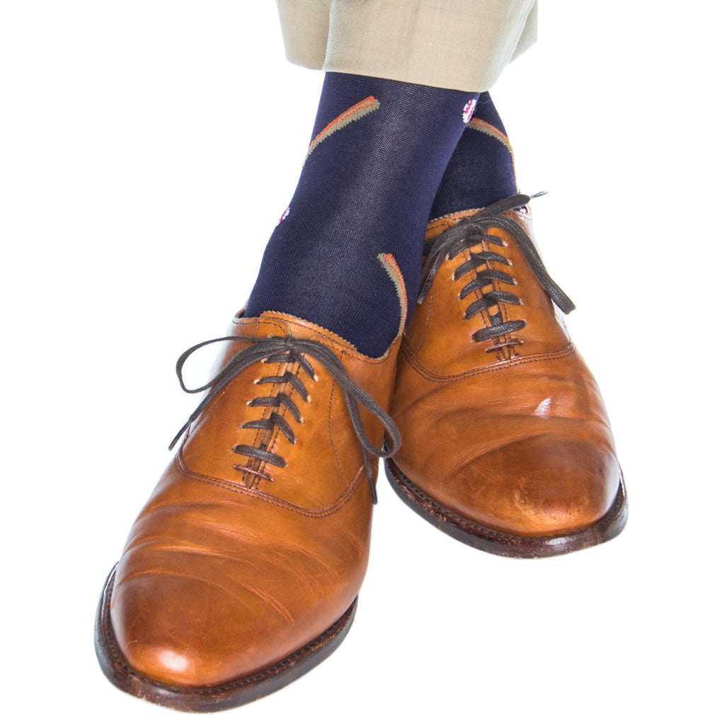 Dress-Blue-Baseball-USA-Sock