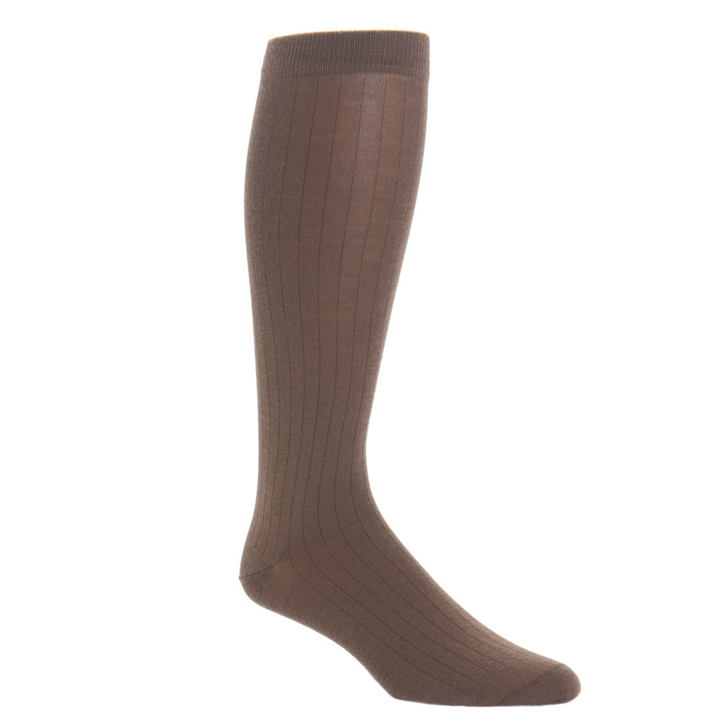 Brown-USA-Made-Wool-Sock