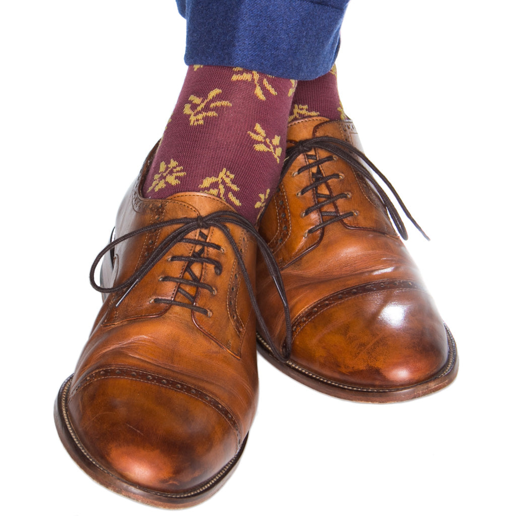 Patterned-Wool-Socks