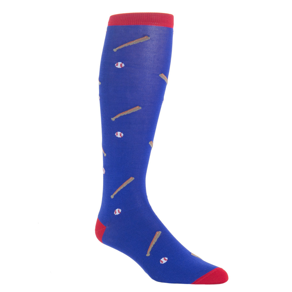 OTC-Blue-Baseball-Dress-Sock-USA