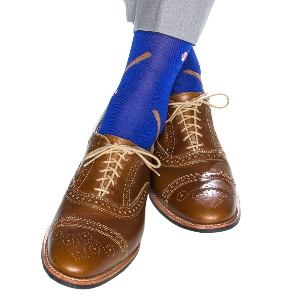 Blue-Dress-Baseball-Sock-Made-In-America