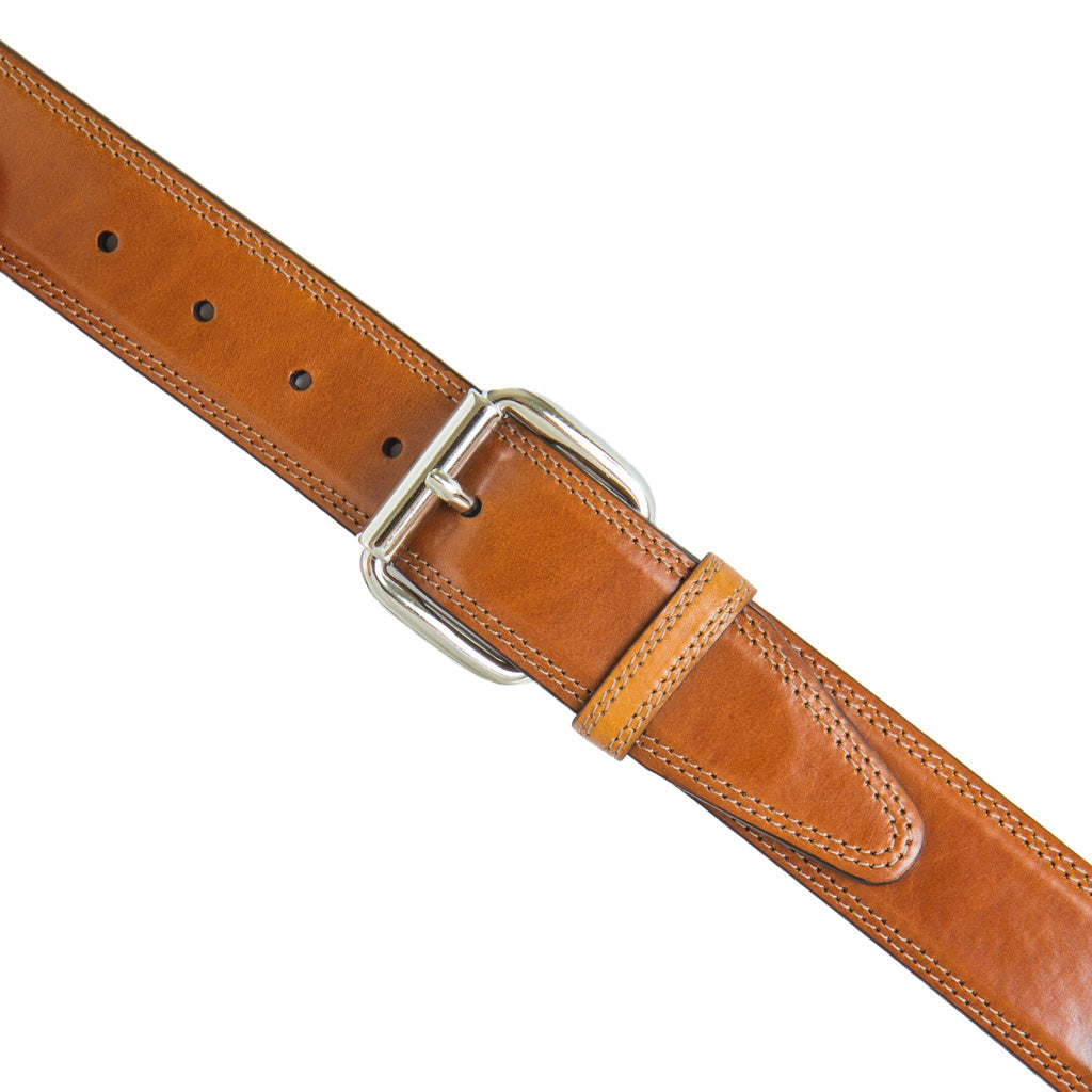 Cognac-Made-In-USA-Leather-Belt