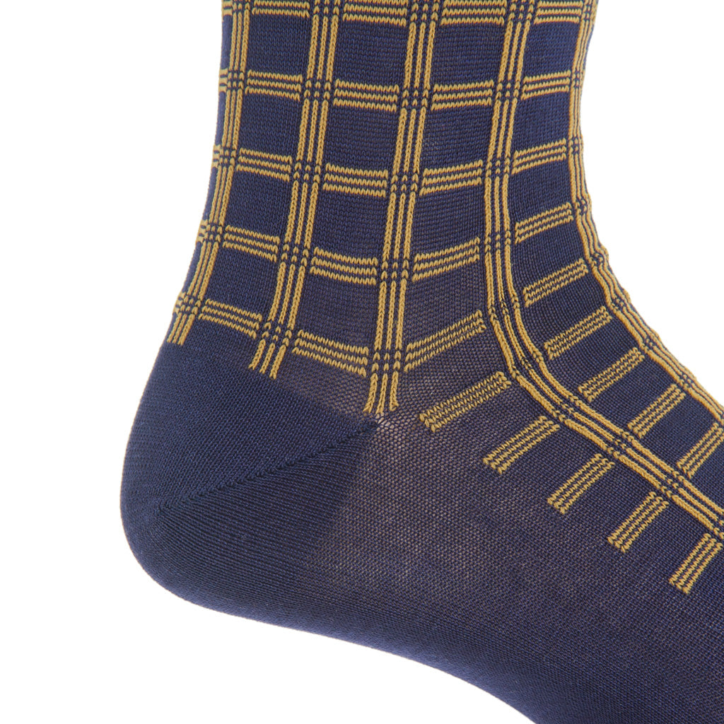 Mid-Calf-Navy-Gold-Sock-USA