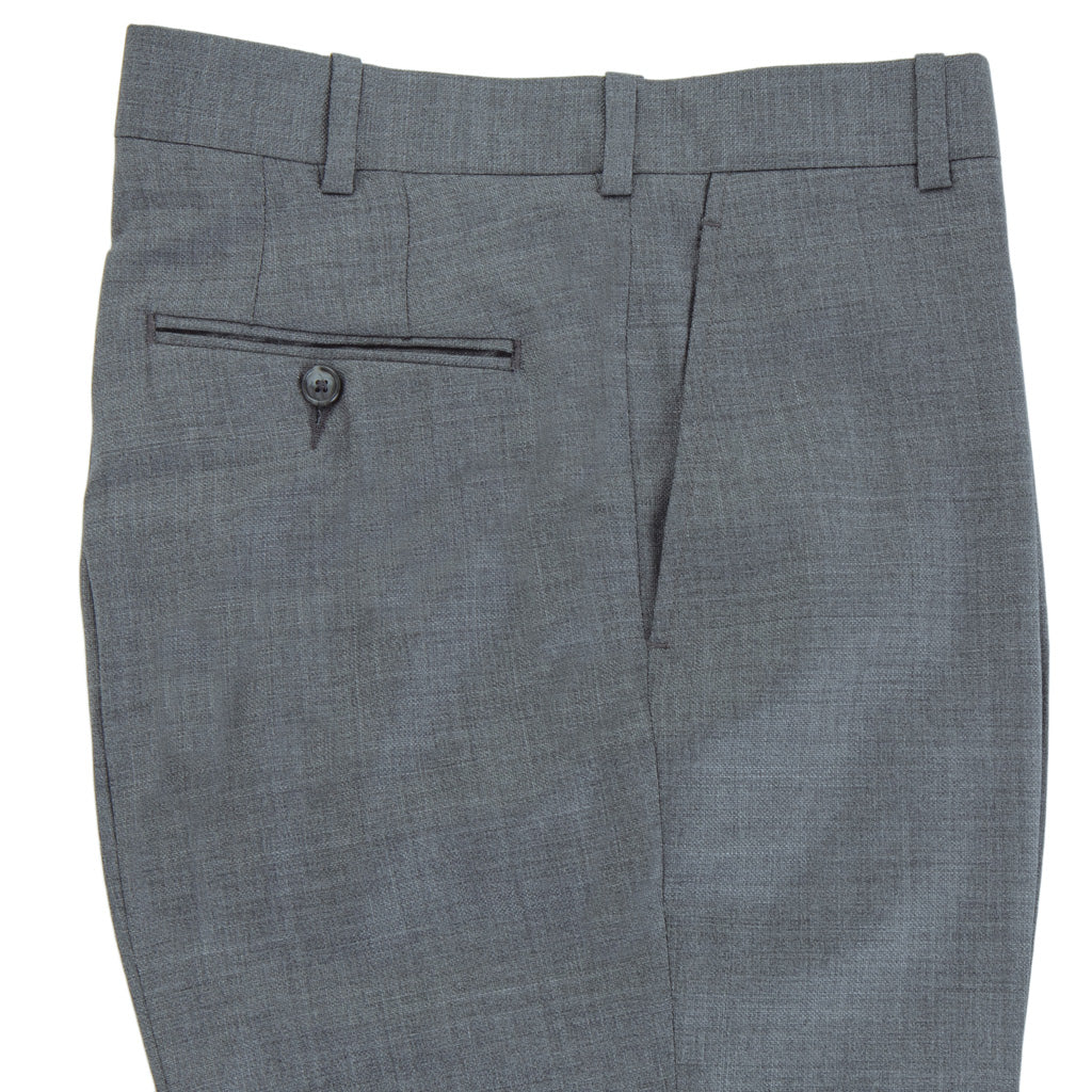 Grey-Gray-Trousers-Super 130s-Wool