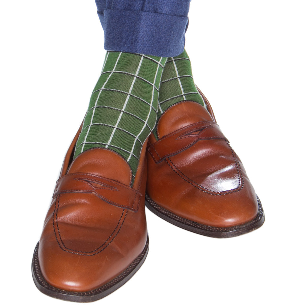 Windowpane-Wool-Sock-USA