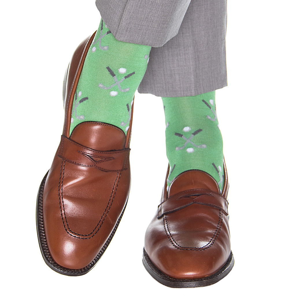 Cotton-Golf-Sock-Made-In-USA