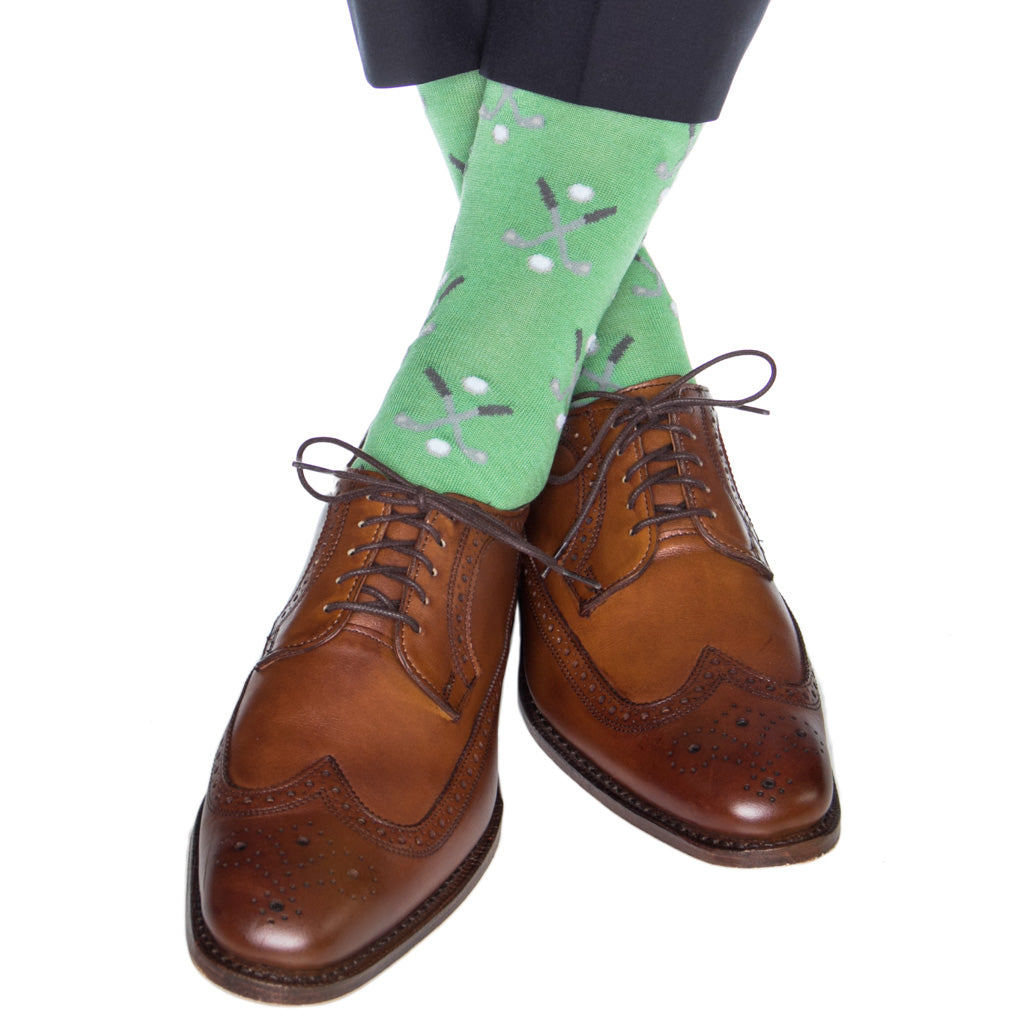 Green-Golf-Sock-USA