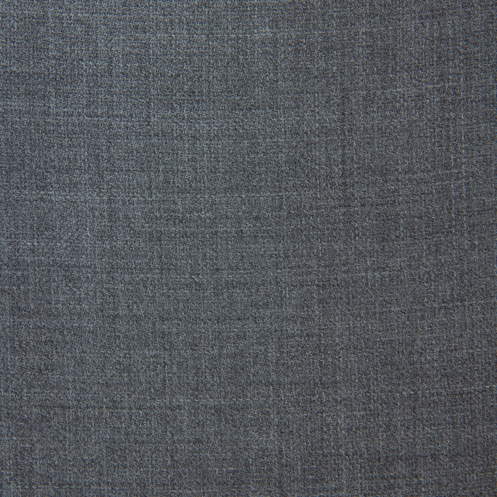 Grey-Gray-Super 130s-Hopsack-Wool-USA