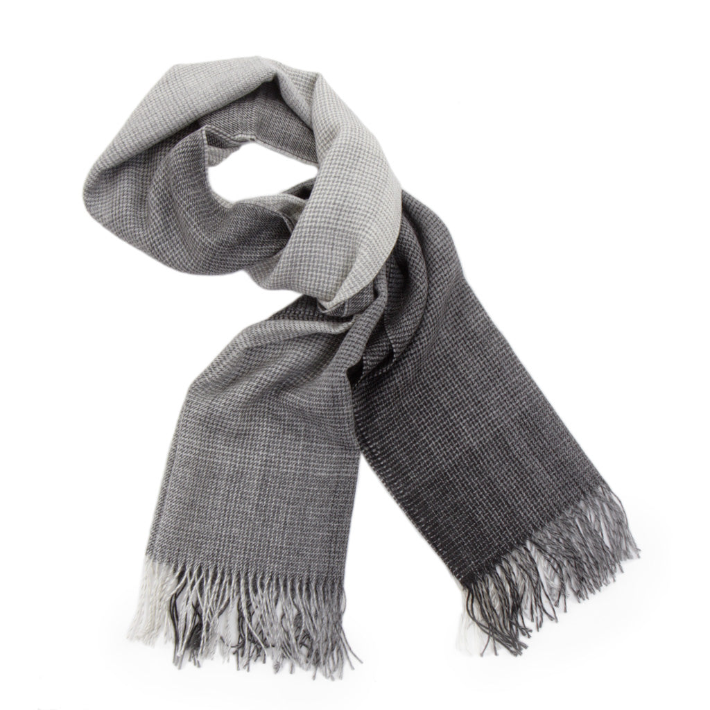 Charcoal-Grey-Houndstooth-Scarf