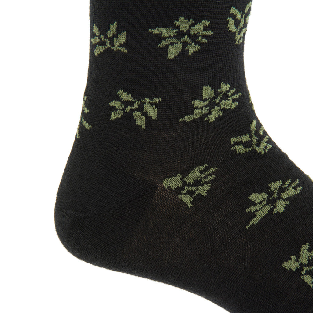 Mid-Calf-Wool-Leaf-Sock