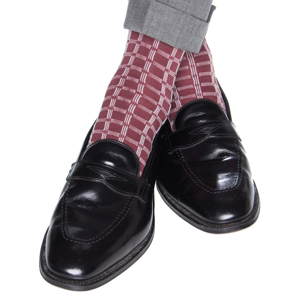 Patterned-Cotton-Sock