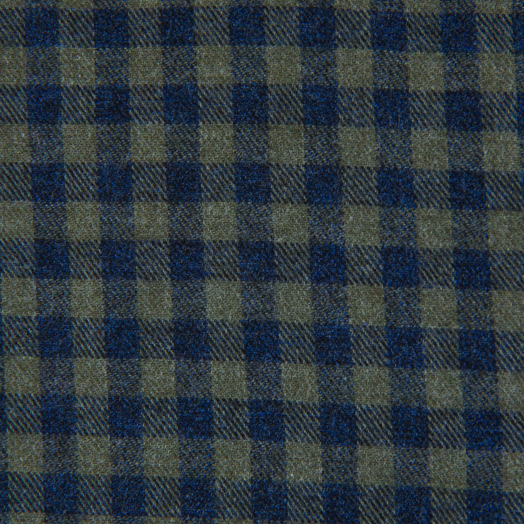Made-In-USA-Green-Navy-Plaid-Brushed-Cotton-Sports-Shirt