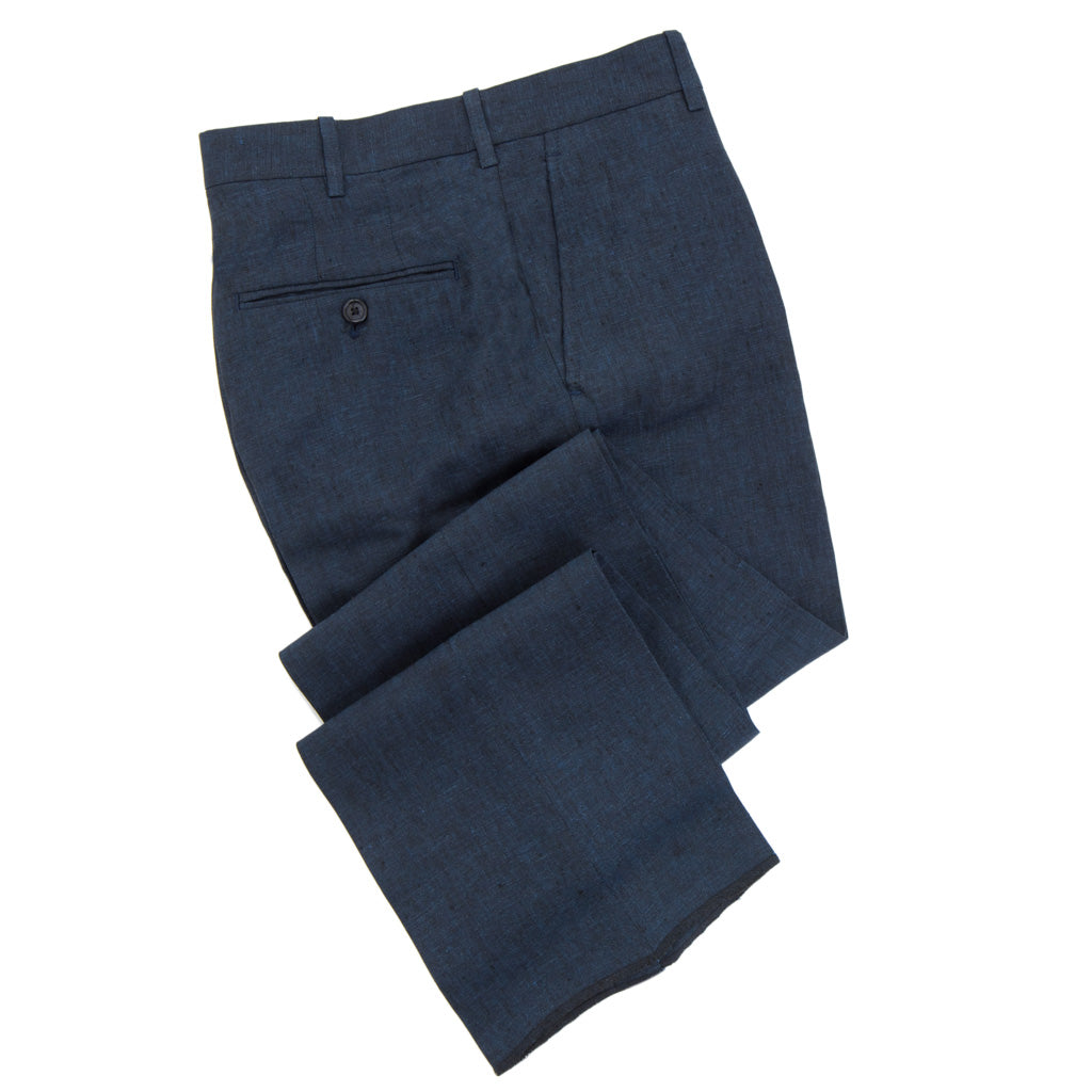 Slim-Fit-Navy-Trouser