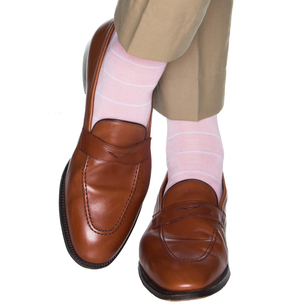 Pastel-Pink-Mens-Socks