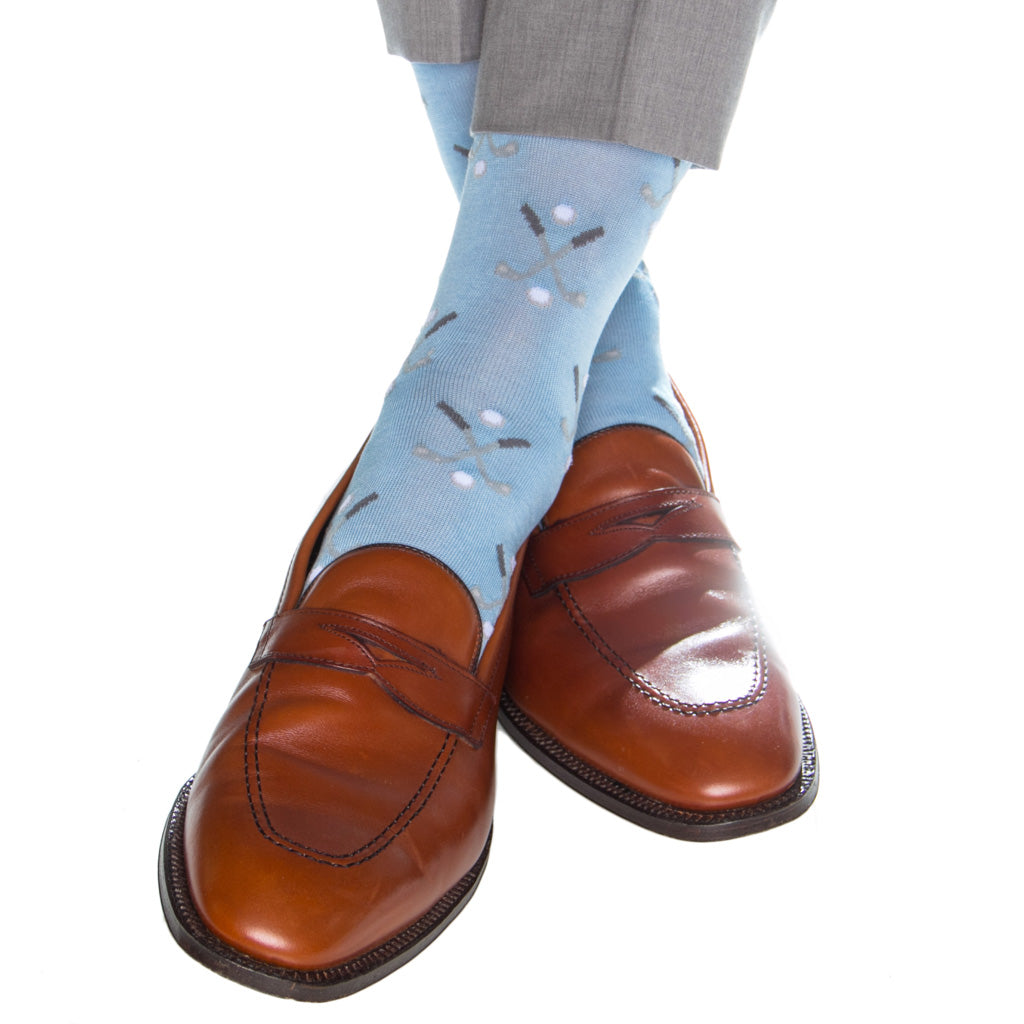 Made-In-America-Mid-Calf-Blue-Golf-Sock