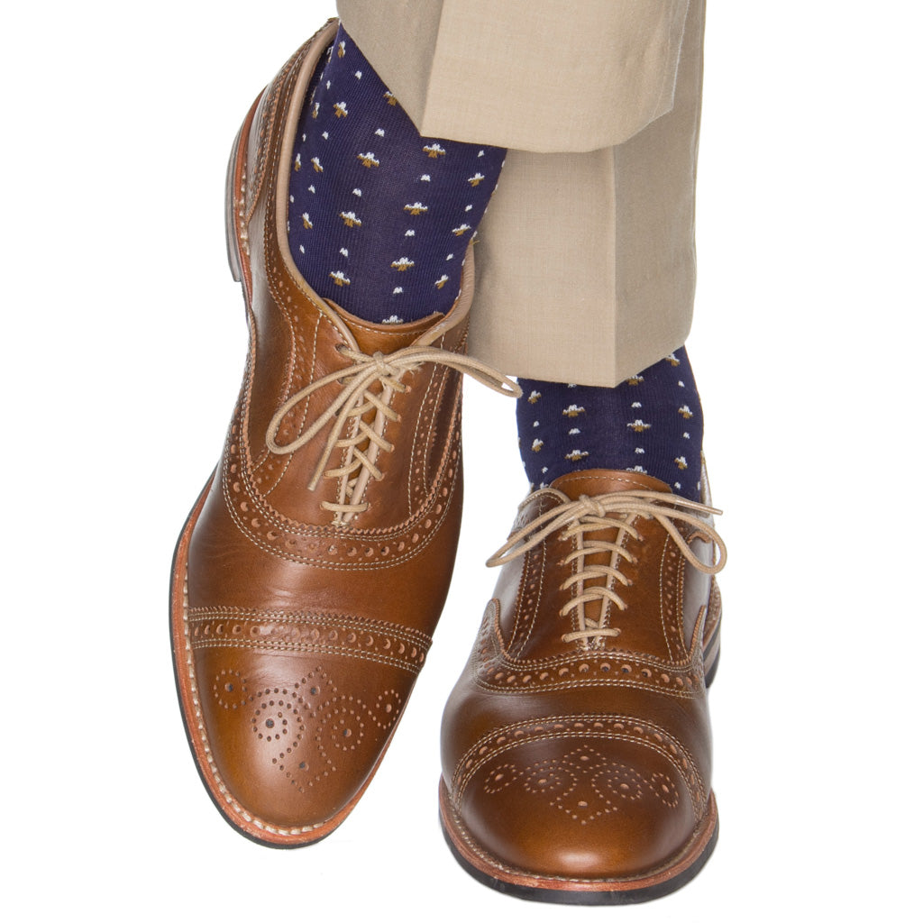 Made-In-America-Patterned-Cotton-Sock