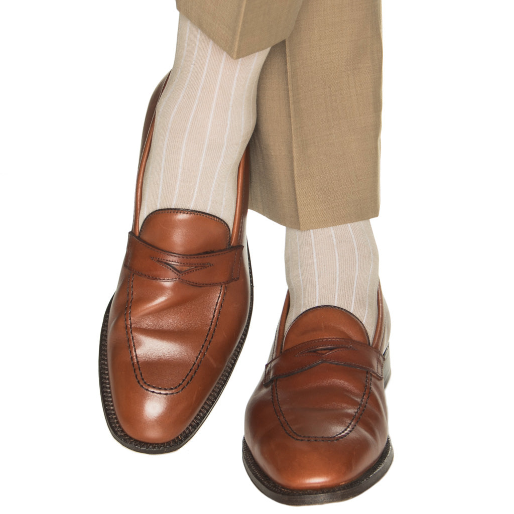 OTC-American-Made-Tan-Socks