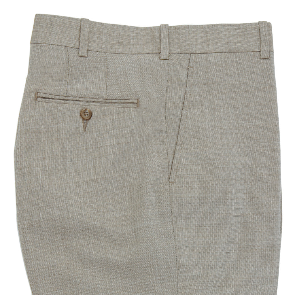 Tan-Brown-Hopsack-Trousers