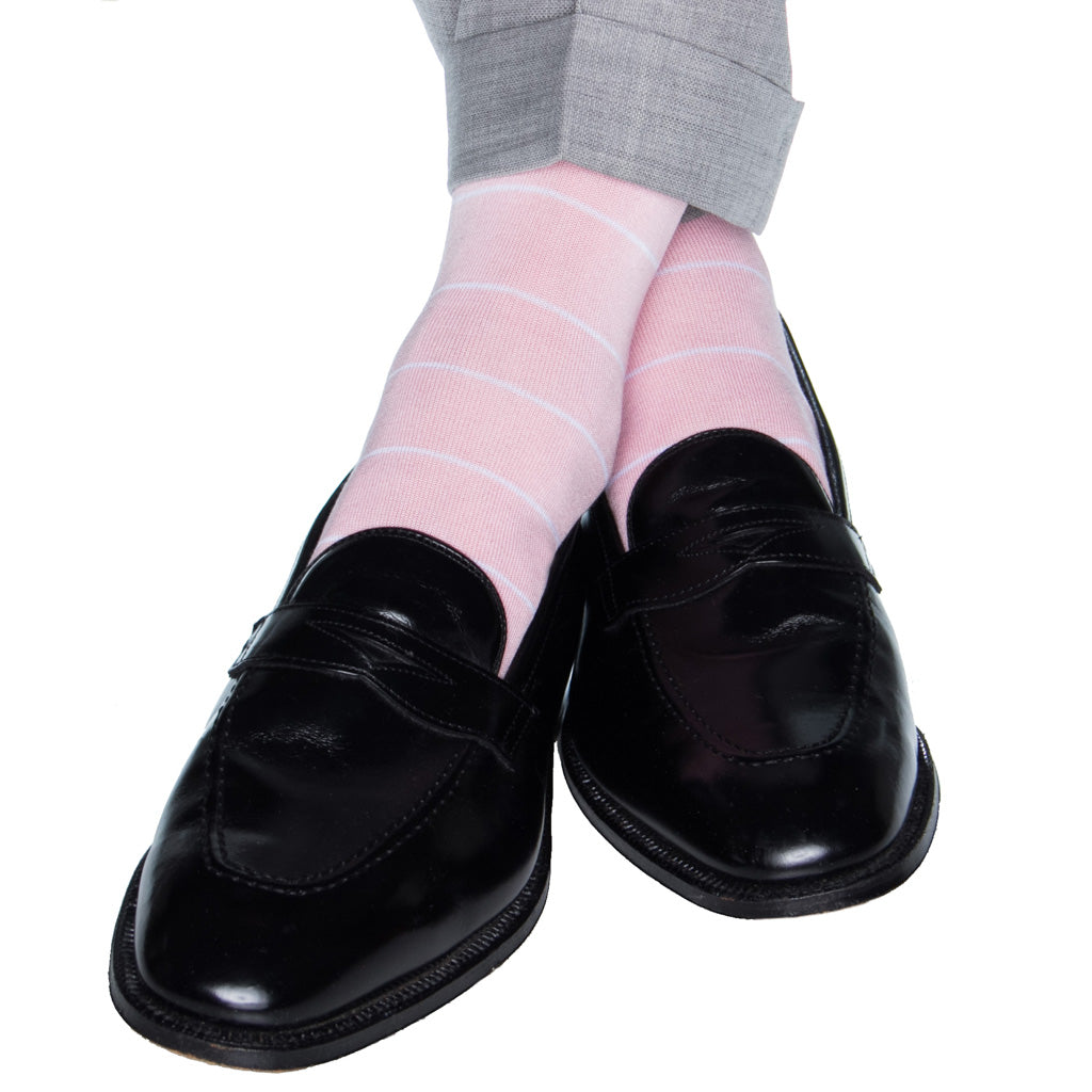 Pink-Derby-Socks