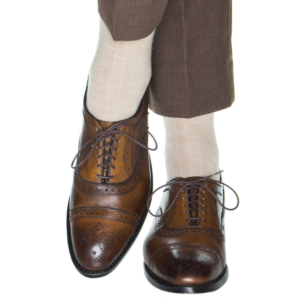 Camel-Ribbed-Cashmere-Sock