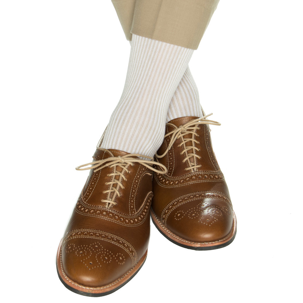 tan-vertical-stripe-sock