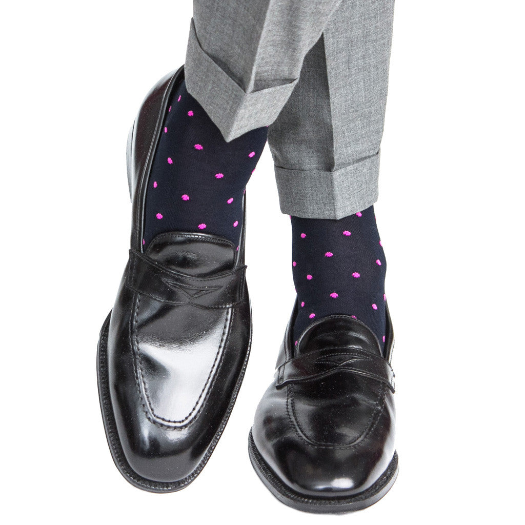 Mens-Dot-Sock