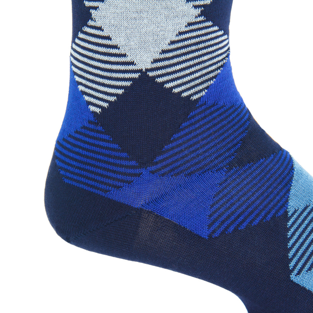 argyle cotton sock