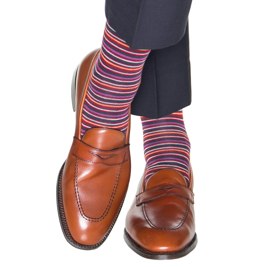 Stripe-Wool-Sock