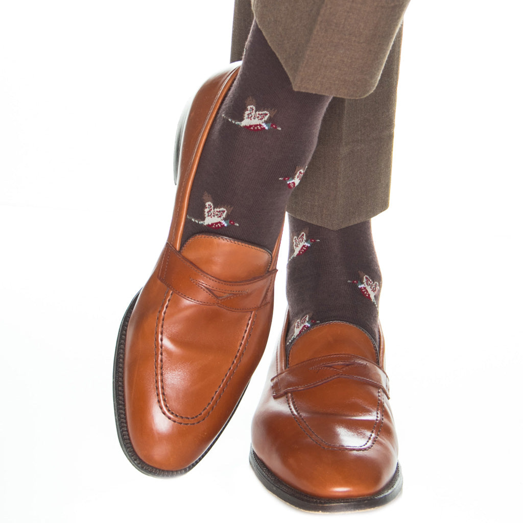 Brown-Sock