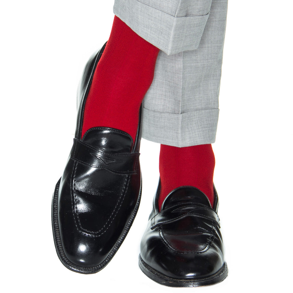Red-Cashmere-Sock