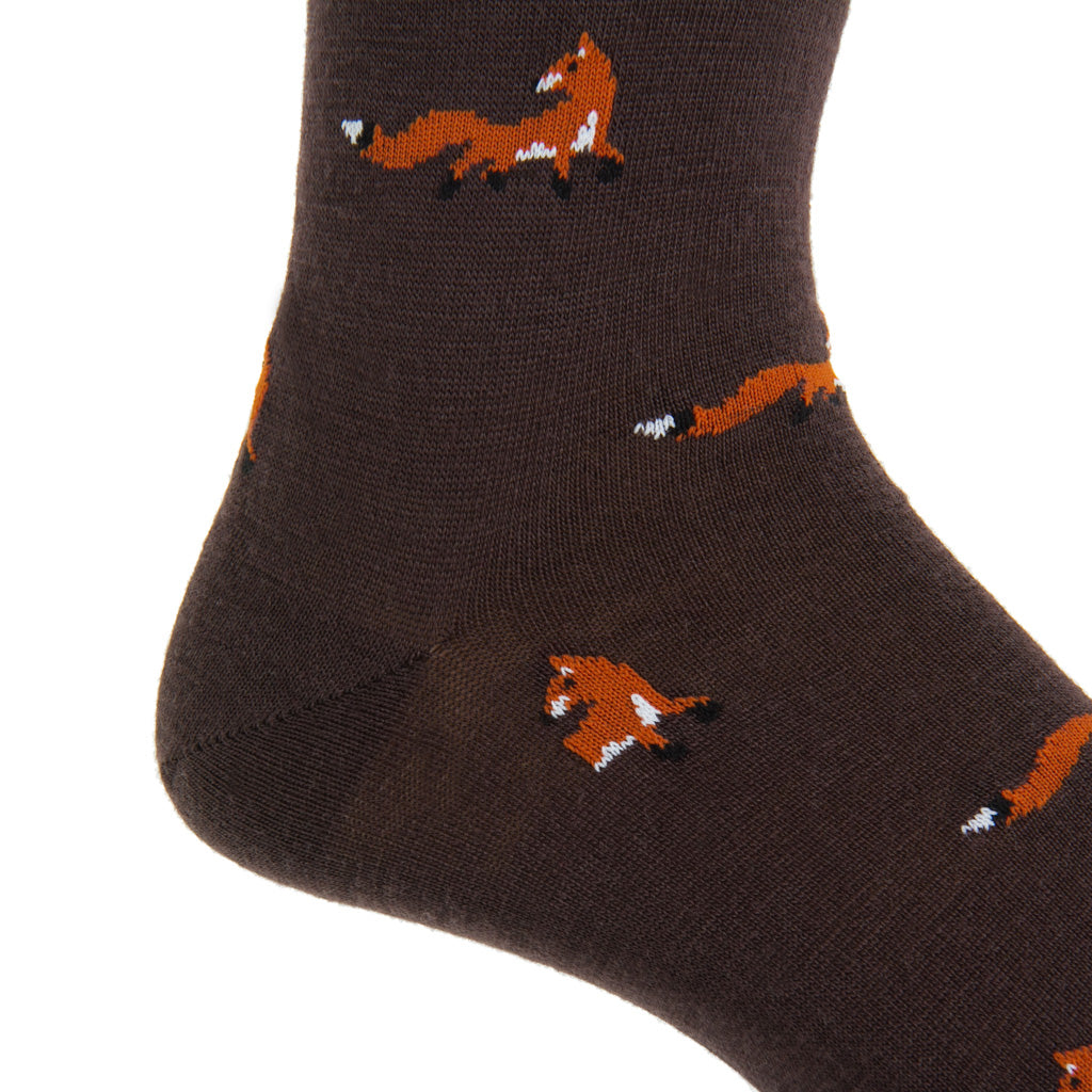 Fox-Wool-Sock
