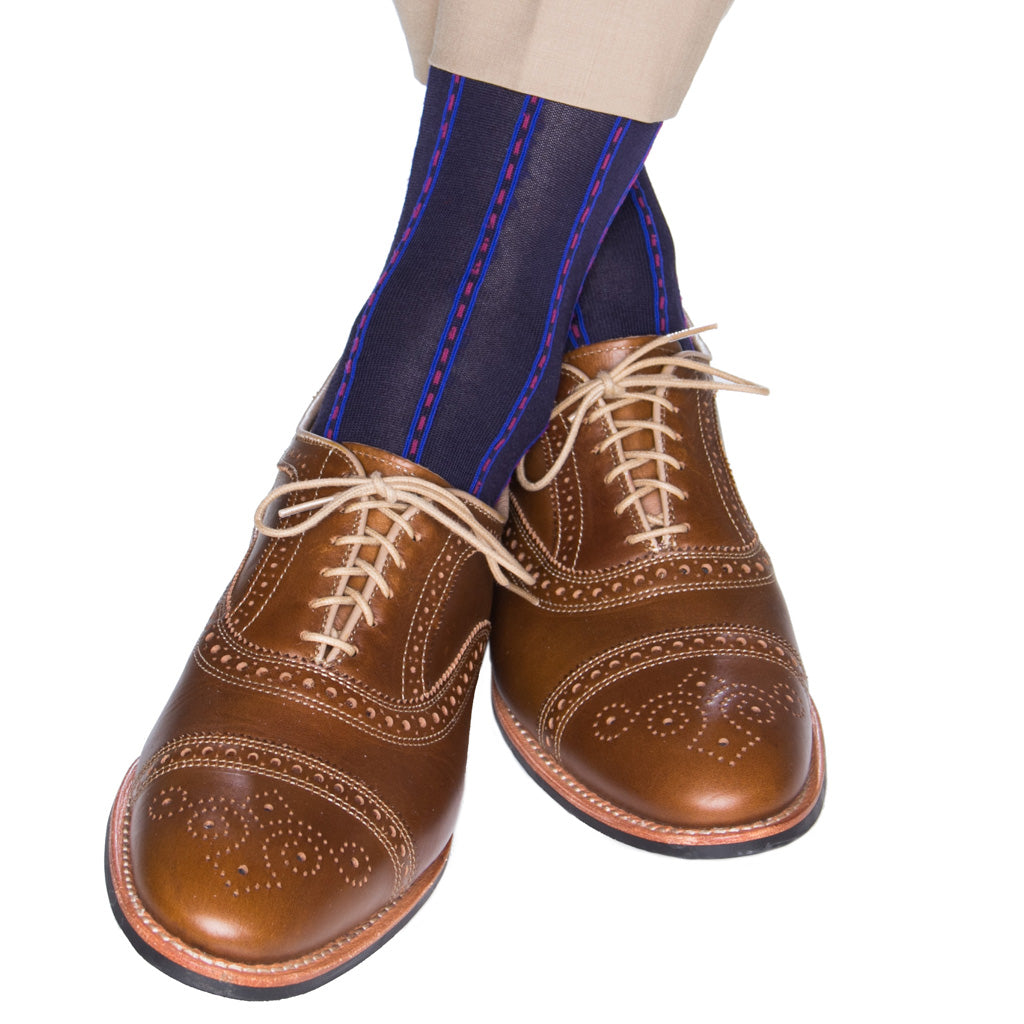 Mens-Sock-With-Clocking