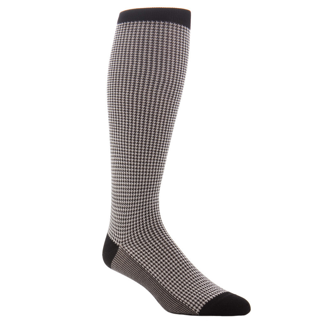 Houndstooth-Sock-Over-the-Calf