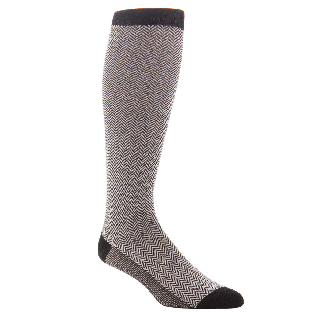 Herringbone-Sock-Over-the-Calf