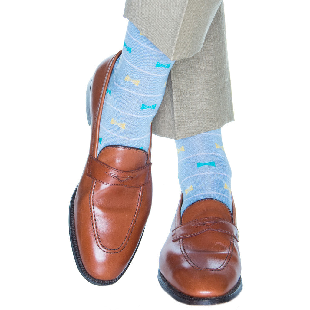 Pastel-color-derby-socks